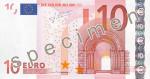 Bankovka 10 Euro (líc)
