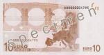 Bankovka 10 Euro (rub)