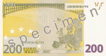 Bankovka 200 Euro (rub)
