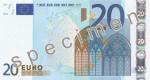 Bankovka 20 Euro (líc)