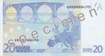 Bankovka 20 Euro (rub)