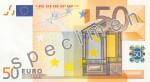Bankovka 50 Euro (líc)