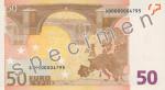 Bankovka 50 Euro (rub)