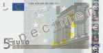 Bankovka 5 Euro (líc)